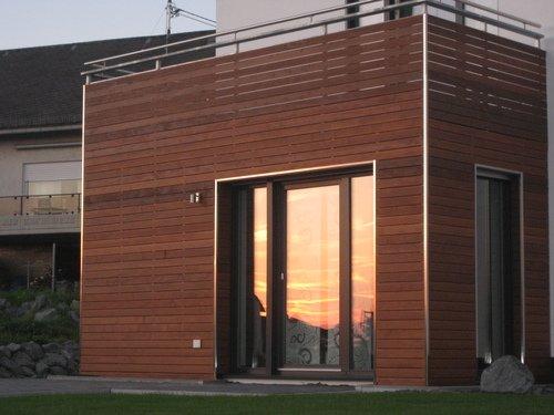 Holzfassade