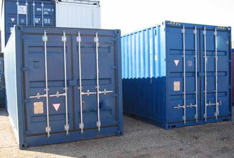 Duba container conteneurs maritime container d occasion for Location container habitable