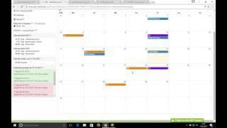 ZEO Kalender für Termine und Fehlzeiten