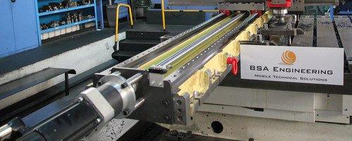 Mobiles CNC-Fräsen / Vor Ort CNC Fräsen