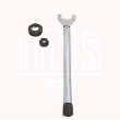 Torque wrench for ER nuts