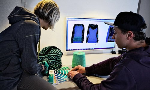 Sonderproduktion Textilien