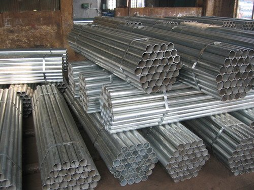 verzinkte Stahlrohre