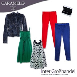 CARAMELO women and men stock clothes/Wholesale clothes for women from