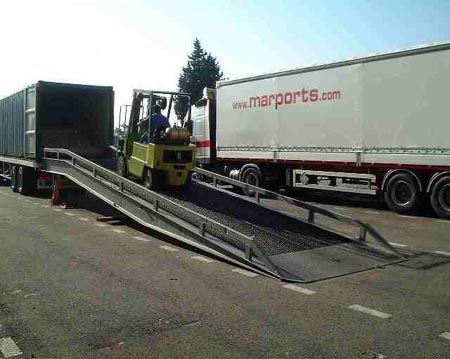 Marports transport lots complets alsace transport lots for Container alsace