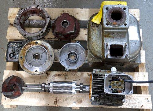 Pumpenreparaturen Ersatzteile Service