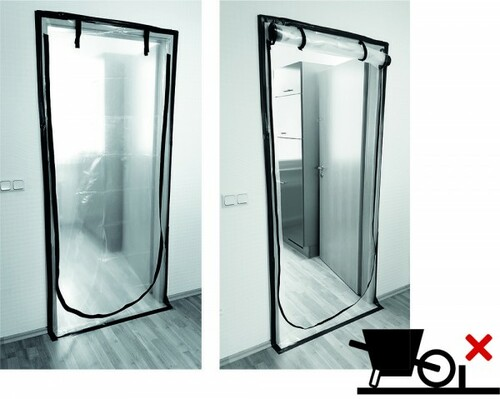 Dust protection doors