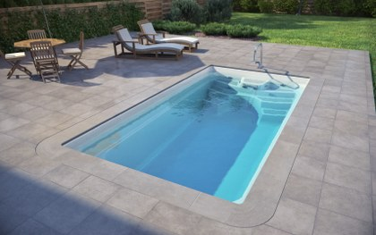 luxe pools swimming pool automatic covers fiberglass swimming pool prefabricated