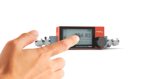 Mass Flow Meter for Gases – red-y compact 2