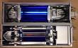 Cold UV lamp for printer