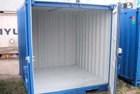 Achat container habitable occasion bande transporteuse for Container bureau prix