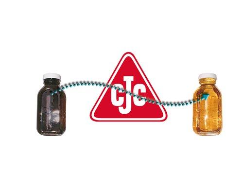 Sauberes und trockenes Öl mit CJC