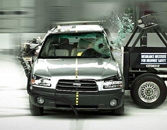 Crash Test Barrieren