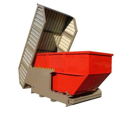 Containerstellplatz mit Auffangwannen