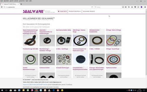 SEALWARE - Lagerliste / Shop