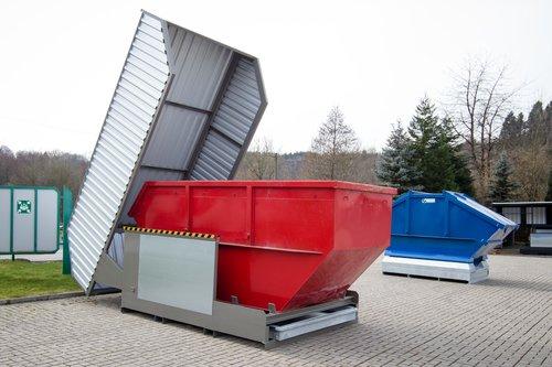 Containerstellplatz vom Typ NCL 100 HS