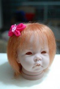Echthaar-Puppenperücken