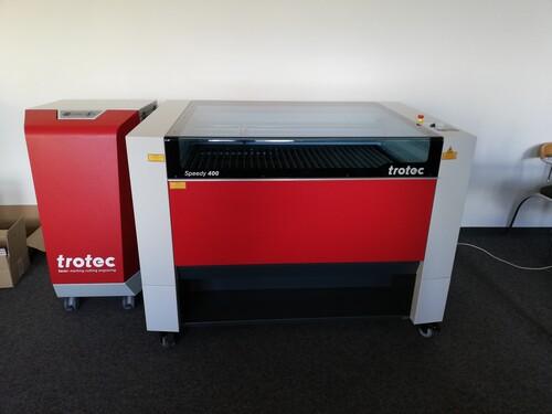 Trotec Speedy 400 120W - Laserschneiden