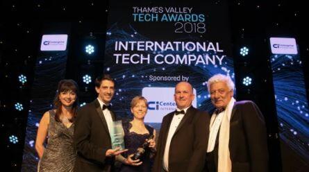 bei den Thames Valley Tech Awards