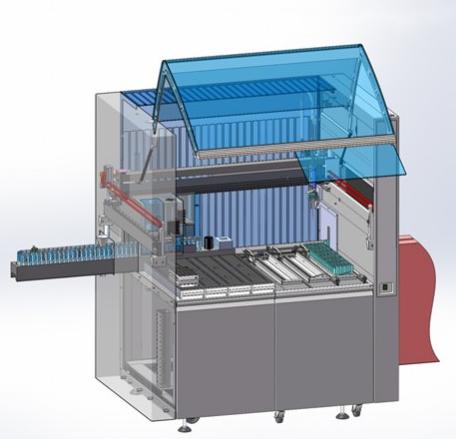 Laborgerät für Modulauszug