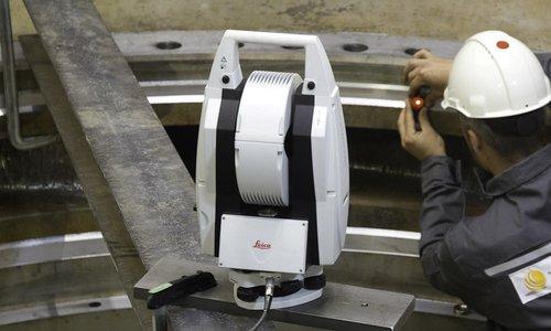 3D-Laservermessung mit Laser Tracker
