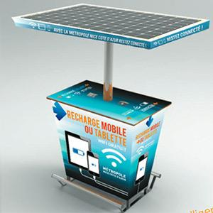 Sunpod Nomad - solar charging station  for rent & sale