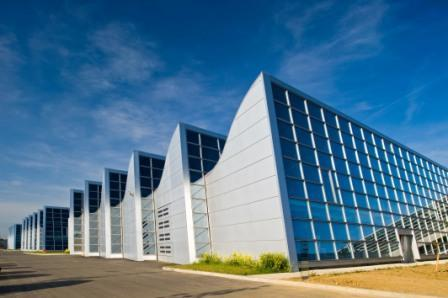 Gallieni high school in Toulouse (F) - Cladding with Aluzinc®