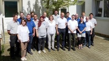 Das JEVATEC-Team.