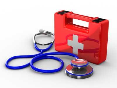 Tout le matériel pour les soins médicaux