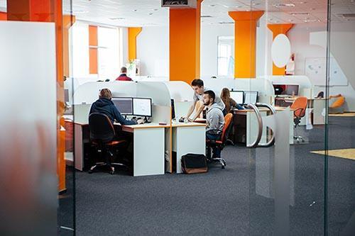 N-iX Lviv HQ openspace