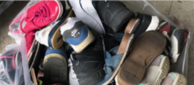 Sammlung von Schuhe