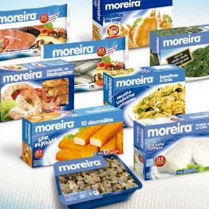 Embalagens de alguns produtos Moreira. // Some products of our main brand.