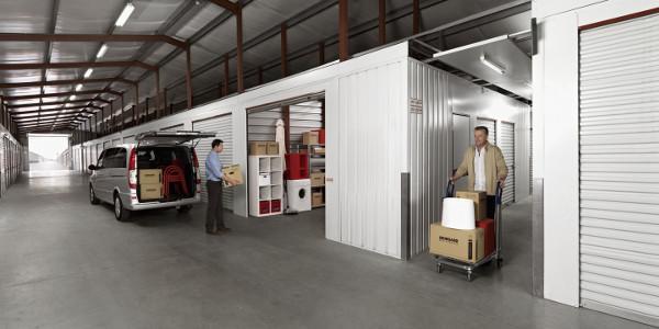 Self storage units at Shurgard