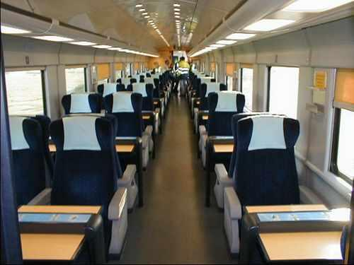 New Amenity Coach for Eurotunnel shuttle trains