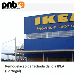 Façade remodeling IKEA Store – Portugal