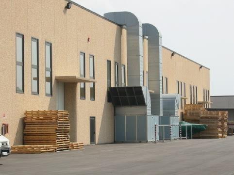 impianto ventilazione per reparto produttivo
