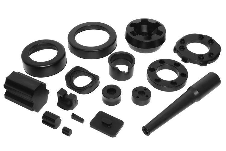 Moulded rubber parts 2