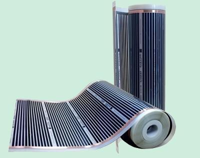 Chauffage électrique à mettre au sol sous le carrelage, au mur ou plafond derrière le plâtre. Ce chauffage est sans entretien et facile à mettre en place. Ces films chauffants sont économique