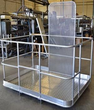 Aluminium structure