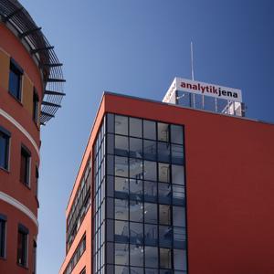 der Hauptsitz der Analytik Jena AG in Jena Göschwitz