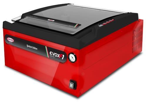 Compatta, ergonomica e dotata di vuoto sensoriale, EVOX 30 si caratterizza per la facilità d'uso abbinata ad un' estrema versatilità, consentendo la creazione di vuoto sia interno che esterno.