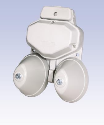 Signaleinrichtung mit integriertem Anschaltrelais - kann an Klein-TK-Anlagen oder DSL-Routern mit analogen Telefon-Anschlüssen betrieben werden