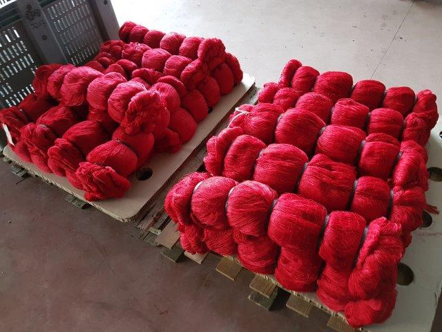 Double knot fishnet
