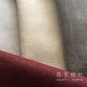 Polyester Leather Sofa Fabric