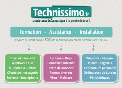 Technissimo - services informatique Bordeaux