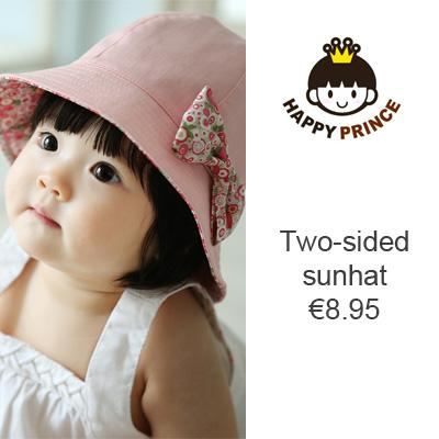 Happy Prince has a wide variety of sun hats, caps, bibs, beanies and other head accessories for babies and children from 0 to 4 years. Directly available from stock. See all items in our webstore.