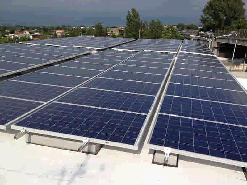 Impianto fotovoltaico 70kwp