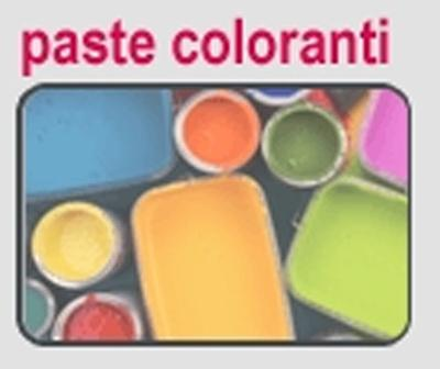 Paste coloranti.