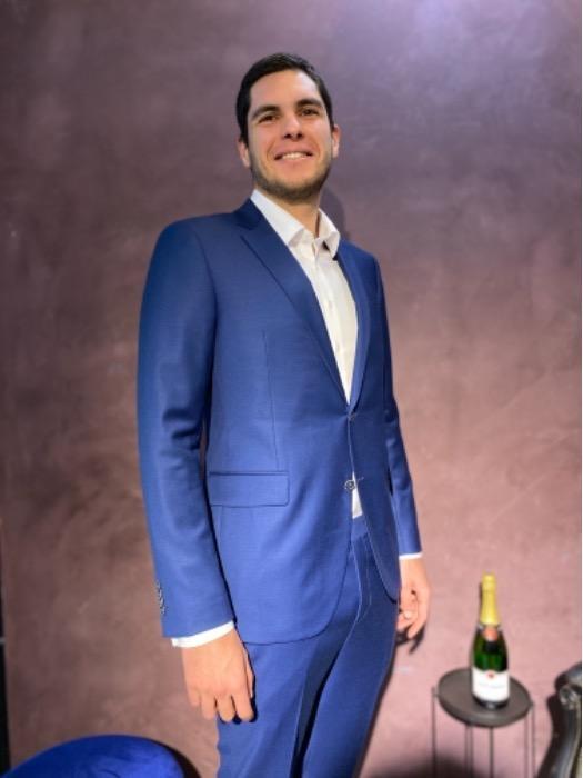 Royal Blue Bespoke Suit