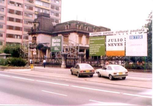 Restaurações - Casa das Rosas - São Paulo - SP